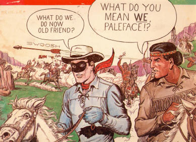 Lone Ranger & Tonto Cartoon