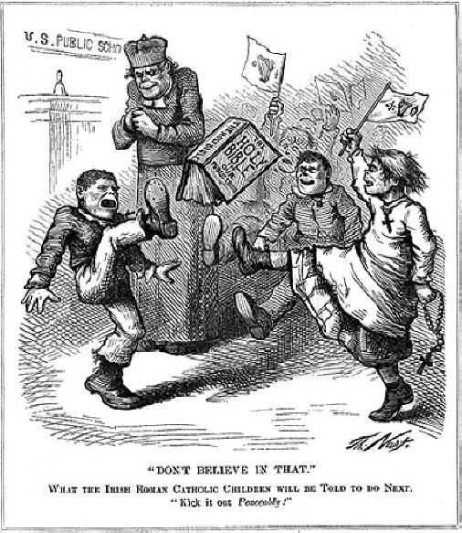 anti catholic sentiment in 19th century america American anti-catholicism and the confessional the highest tides of anti-catholic feeling in this country in protestant america, in this nineteenth century.